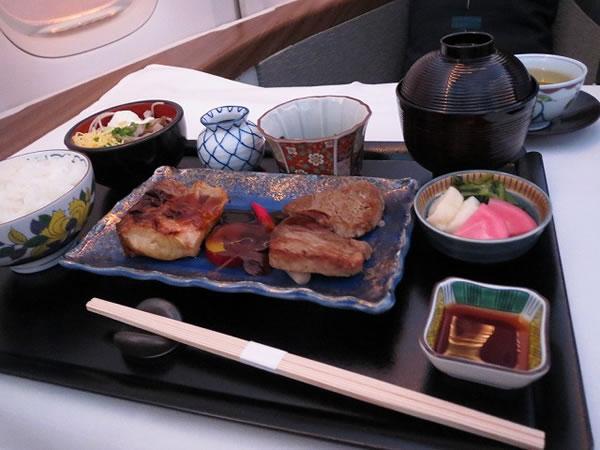 2014年6月 キャセイパシフィック航空 CX543 機内食