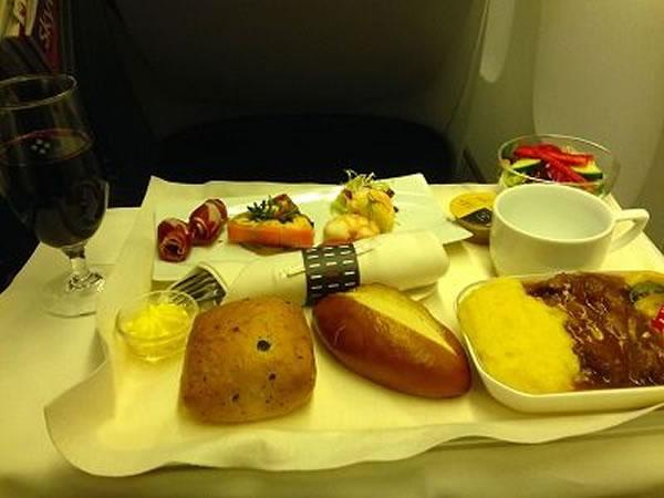 2015年2月 日本航空 / JAL JL26 機内食