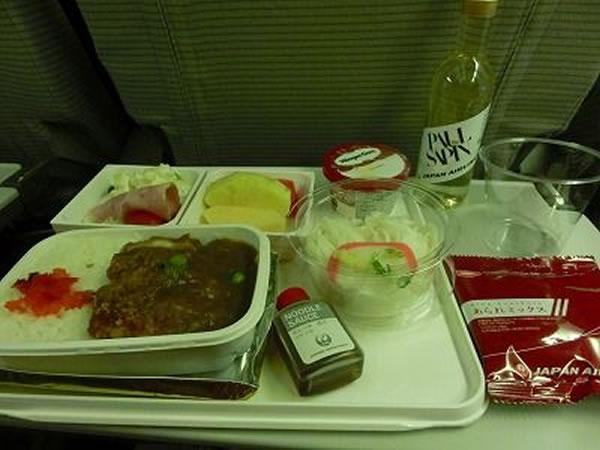 2014年12月 日本航空 / JAL JL26 機内食