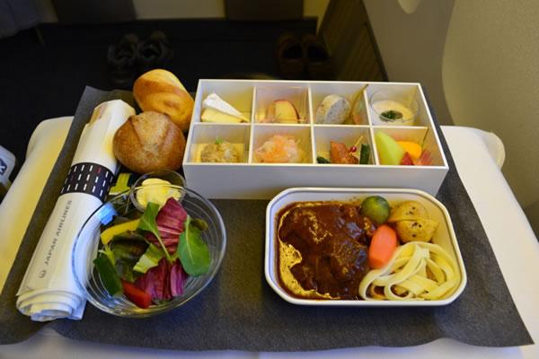 2015年2月 日本航空 / JAL JL29 機内食