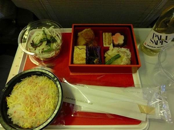 2014年12月 日本航空 / JAL JL29 機内食