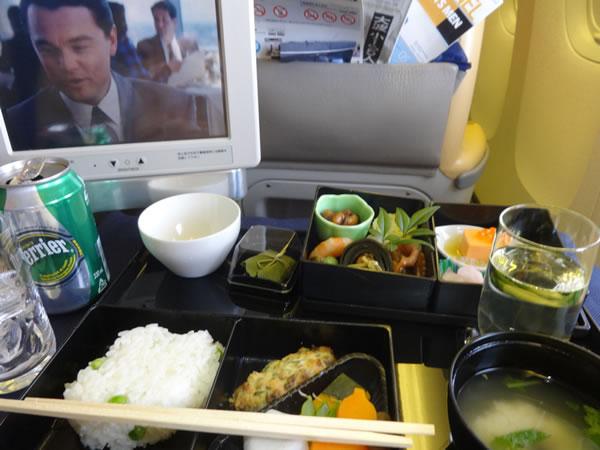 2014年5月 全日空 / ANA NH840 / NH1172 機内食