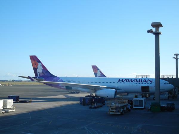 2015年2月 ハワイアン航空 HA457 搭乗記
