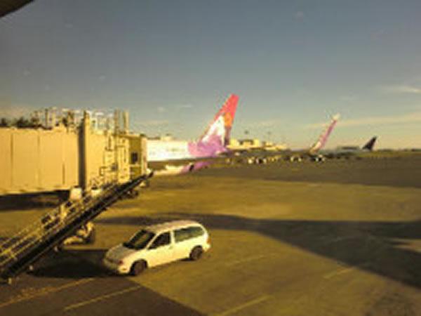 2011年2月 ハワイアン航空 HA457 搭乗記