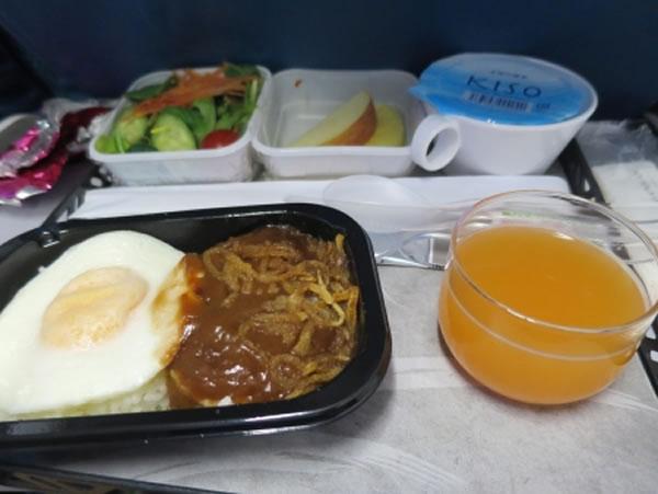 2015年4月 ハワイアン航空 HA458 機内食