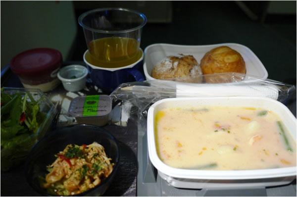 2012年11月 日本航空 / JAL JL80  機内食