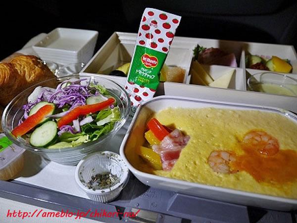 2013年6月 日本航空 / JAL JL80  機内食