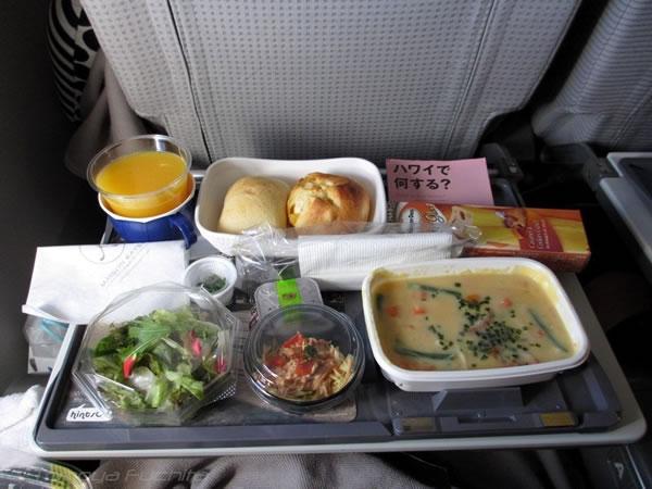 2012年9月 日本航空 / JAL JL80  機内食