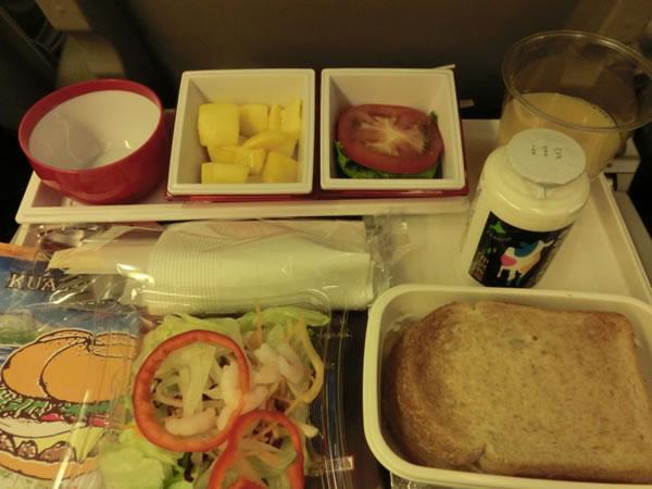 2015年8月 日本航空 / JAL JL80  機内食