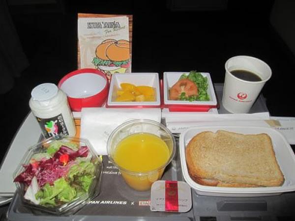2013年9月 日本航空 / JAL JL80  機内食