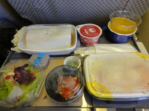 2012年5月 日本航空 / JAL JL80  機内食