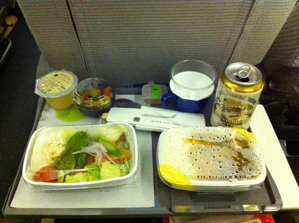 2011年3月 日本航空 / JAL JL80  機内食