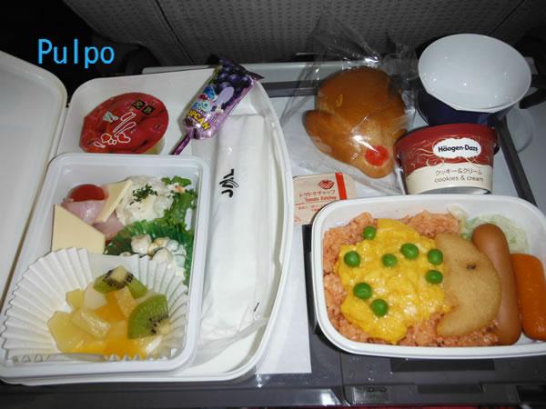 2012年12月 日本航空 / JAL JL80  搭乗記