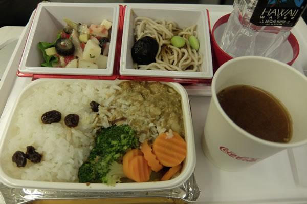 2016年1月 日本航空 / JAL JL89  機内食