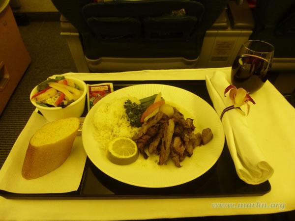 2015年3月 全日空 / ANA NH186 機内食