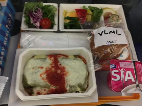 2016年8月 全日空 / ANA NH186 機内食