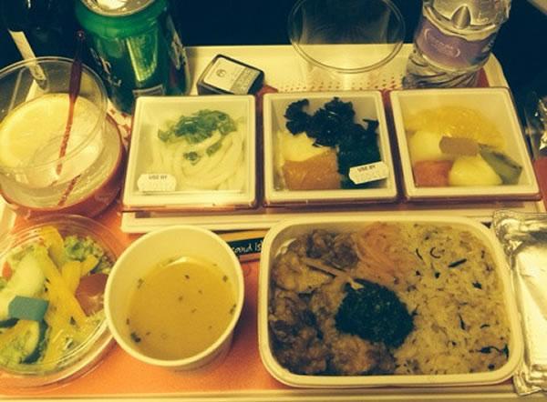 2015年9月 日本航空 / JAL JL44 機内食