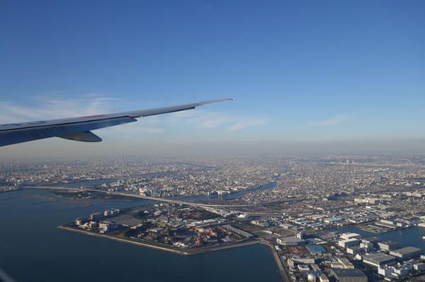 2015年11月 日本航空 / JAL JL44 搭乗記