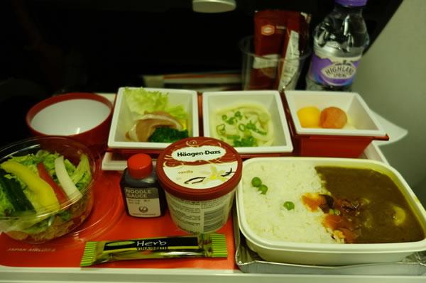 2015年11月 日本航空 / JAL JL44 機内食