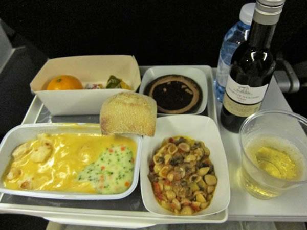 2014年11月 エールフランス航空 AF274 機内食