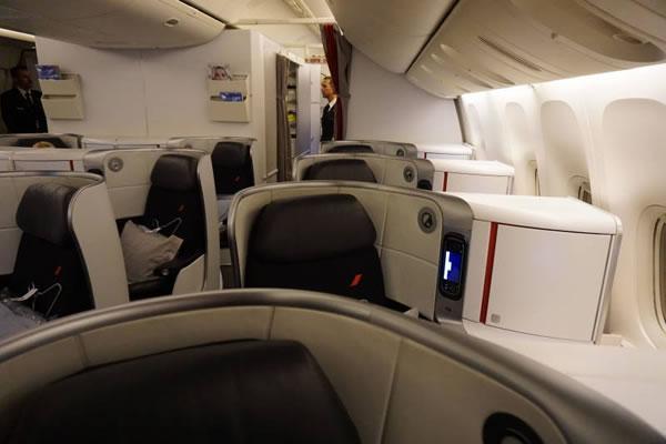 2015年1月 エールフランス航空 AF274 搭乗記