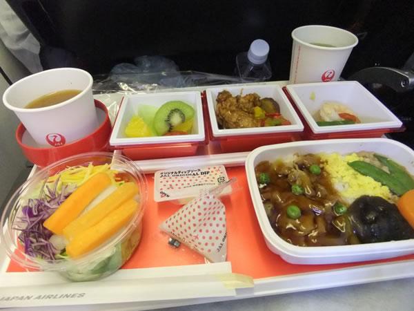 2015年2月 日本航空 / JAL JL45 機内食