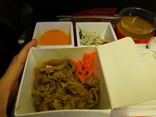 2014年9月 日本航空 / JAL JL45 機内食