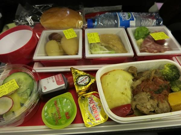 2014年11月 日本航空 / JAL JL46 機内食