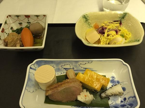 2015年2月 全日空 / ANA NH216 機内食