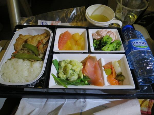 2015年1月 全日空 / ANA NH216 機内食