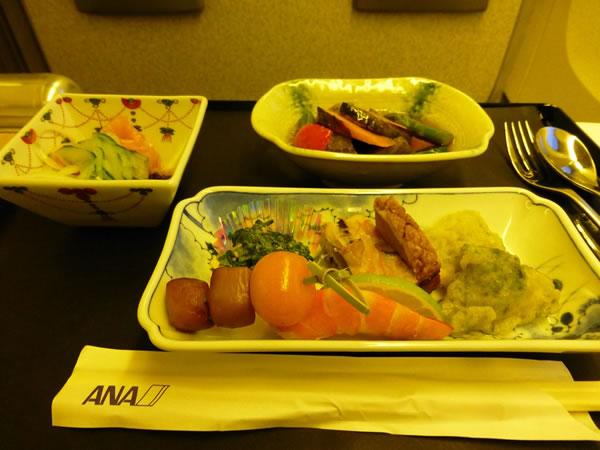 2014年8月 全日空 / ANA NH216 機内食
