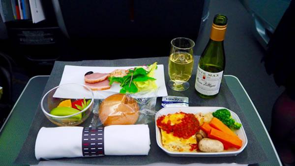 2016年6月 日本航空 / JAL JL90 機内食