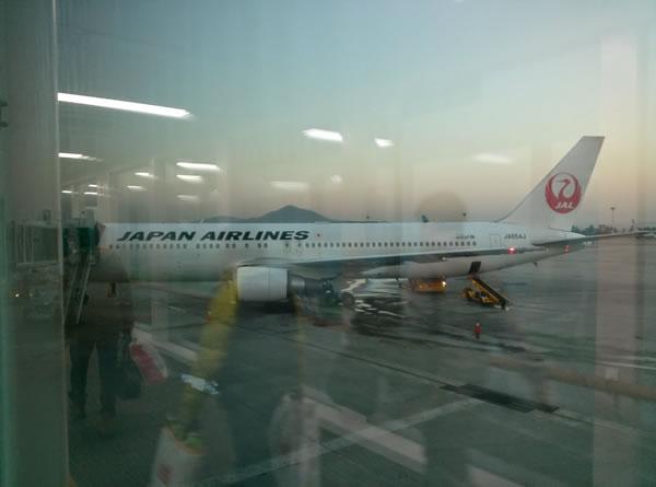 2014年12月 日本航空 / JAL JL90 搭乗記