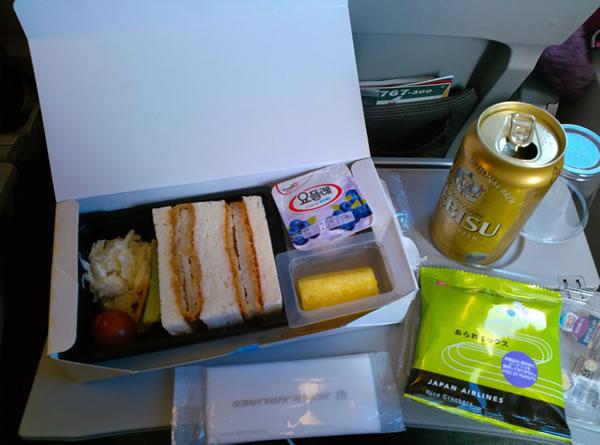 2014年12月 日本航空 / JAL JL90 機内食