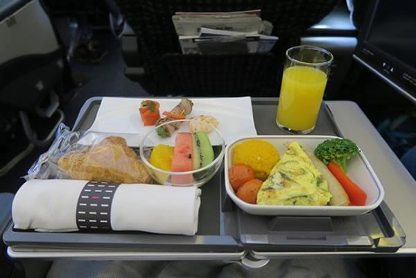 2015年2月 日本航空 / JAL JL90 機内食