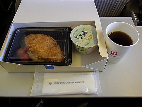 2013年3月 日本航空 / JAL JL90 機内食