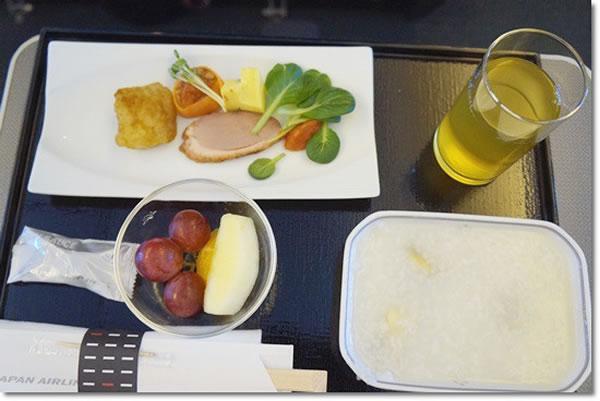 2015年3月 日本航空 / JAL JL90 機内食