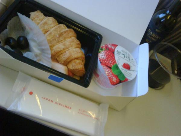 2011年9月 日本航空 / JAL JL90 機内食