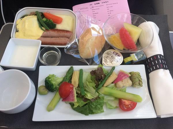 2015年7月 日本航空 / JAL JL91 機内食