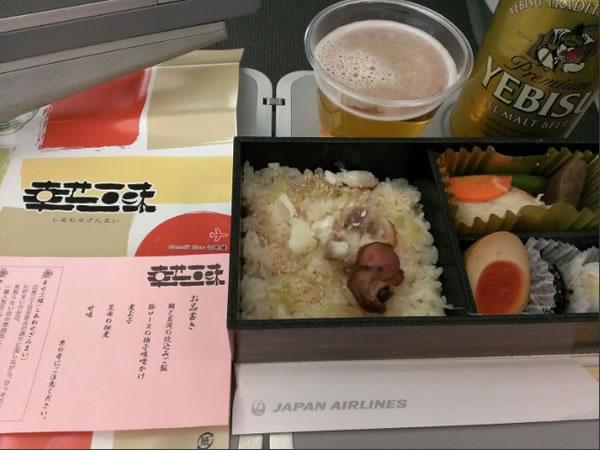2015年6月 日本航空 / JAL JL91 機内食