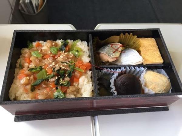2015年2月 日本航空 / JAL JL91 機内食