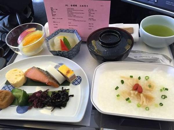 2015年2月 日本航空 / JAL JL91 機内食2