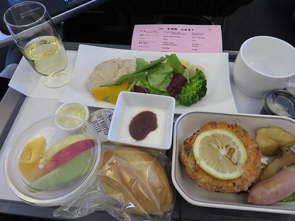 2015年12月 日本航空 / JAL JL91 機内食