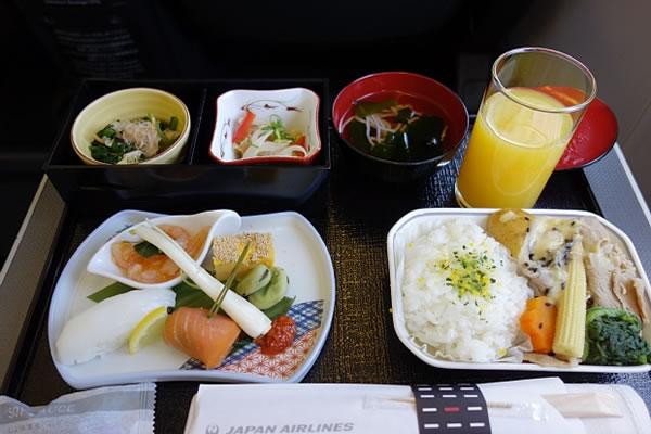 2014年6月 日本航空 / JAL JL91 機内食