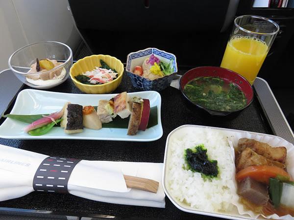 2015年12月 日本航空 / JAL JL92 機内食