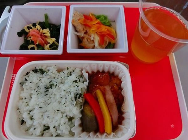 2016年5月 日本航空 / JAL JL92 機内食