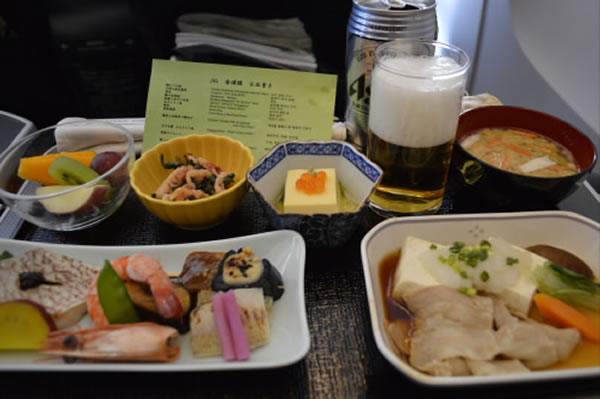 2014年7月 日本航空 / JAL JL92 機内食