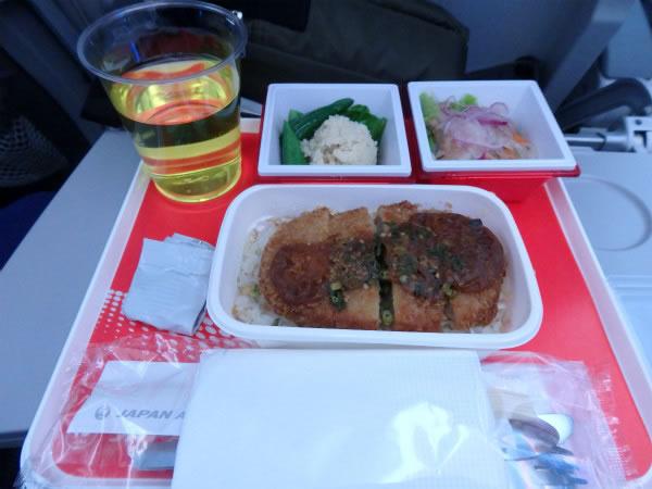 2016年4月 日本航空 / JAL JL92 機内食