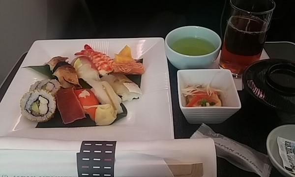 2016年3月 日本航空 / JAL JL93 機内食