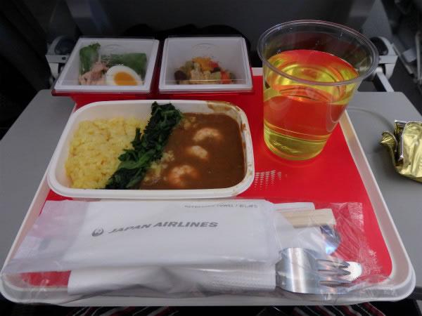 2016年4月 日本航空 / JAL JL93 機内食